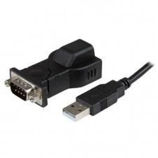 StarTech.com Adaptador USB a Serie RS232 DB9 de 1 puerto con Cable USB A a B Separable de 1,8m - adaptador serie