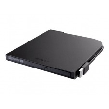 BUFFALO MediaStation Portable DVD Writer - unidad DVD±RW (±R DL) / DVD-RAM - USB 2.0 - externo