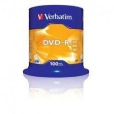 Verbatim - DVD-R x 100 - 4.7 GB - soportes de almacenamiento