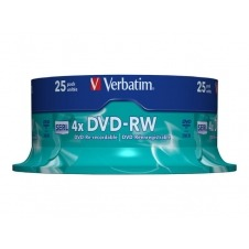 Verbatim - DVD-RW x 25 - 4.7 GB - soportes de almacenamiento