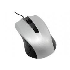 MCL Samar - ratón - USB - negro, plata