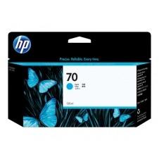 HP 70 - cián - original - cartucho de tinta