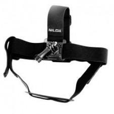 Nilox Rotating Head Strap Mount - sistema de apoyo - montaje para cinta de cabeza