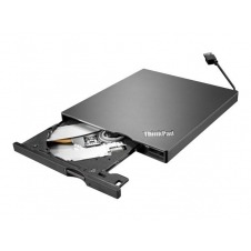 Lenovo ThinkPad UltraSlim USB DVD Burner - unidad DVD±RW (±R DL) / DVD-RAM - SuperSpeed USB 3.0 - externo