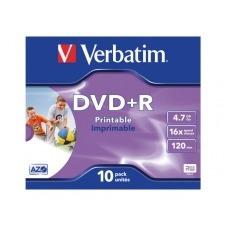 Verbatim DataLifePlus - DVD+R x 10 - 4.7 GB - soportes de almacenamiento