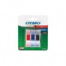 DYMO - cinta con relieve 3D - 3 bobina(s)