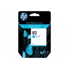 HP 82 - cián - original - cartucho de tinta