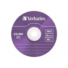 Verbatim DataLifePlus Hi-Speed - CD-RW x 5 - 700 MB - soportes de almacenamiento