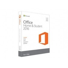 Microsoft Office Hogar y Estudiantes 2016 para Mac - caja de embalaje - 1 licencia