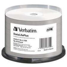Verbatim DataLifePlus - DVD-R x 50 - 4.7 GB - soportes de almacenamiento