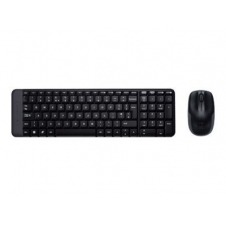 Logitech Wireless Combo MK220 - juego de teclado y ratón - Árabe