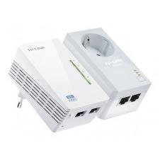 TP-LINK TL-WPA4226KIT AV500 Powerline WiFi Kit - puente - 802.11b/g/n - conectable en la pared