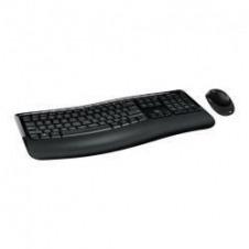Microsoft Wireless Comfort Desktop 5050 - juego de teclado y ratón - Español - Europa