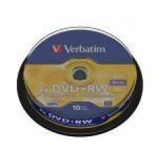 Verbatim - DVD+RW x 10 - 4.7 GB - soportes de almacenamiento