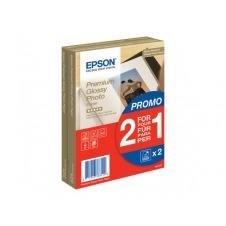 Epson Premium Glossy Photo Paper BOGOF - papel fotográfico brillante - 40 hoja(s)