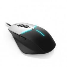 Alienware Advanced Gaming Mouse AW558 - ratón - USB - negro, plata