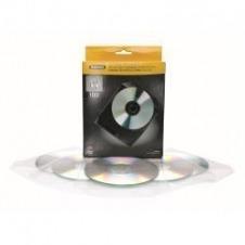 Fellowes CD/DVD Plastic Wallet - página para archivador de CD/DVD