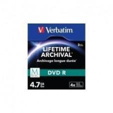 Verbatim M-Disc - DVD-R x 3 - 4.7 GB - soportes de almacenamiento