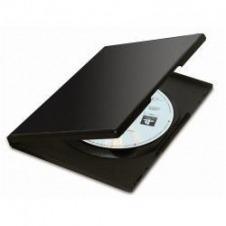 PACK DE 5 CAJAS DVD NEGRO