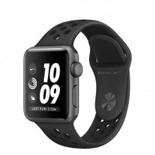 APPLEWATCH NIKE+ S3 GPS 38MM ACCSSP GR ALUM CASE ANTHR/BLACK NIKE IN