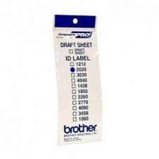 Brother ID2020 - etiquetas de ID de sello - 12 etiqueta(s)
