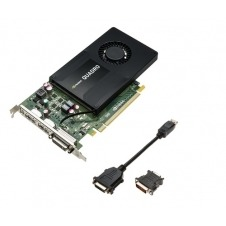 PNY VCQK2200-PB NVIDIA Quadro K2200 4GB tarjeta gr