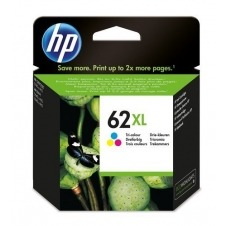 HP 62XL Tri-color Ink Cartridge C2P07AE