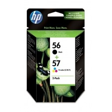 HP 56/57 Inkjet Print Cartridges 2-pack SA342AE