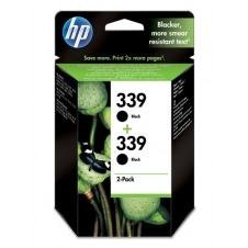 HP No. 339 Black Print Cartridge 2-pack C9504EE