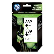 HP No. 339 Black Print Cartridge 2-pack C9504EE