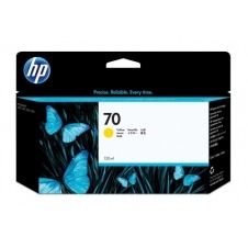 HP Cartucho de tinta DesignJet 70 amarillo de 130 ml