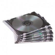 Fellowes estuche delgado para almacenamiento de CD/DVD