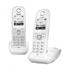 TELEFONO INALAMBRICO SIEMENS-GIGASET AS405 DUO BLANCO