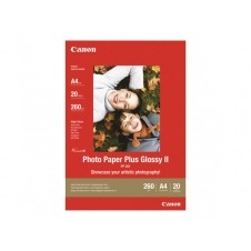 Canon Photo Paper Plus Glossy II PP-201 - papel fotográfico brillante - 20 hoja(s)