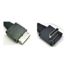 Intel Oculink Cable Kit AXXCBL700CVCR OCuLink SFF-8611 OCuLink SFF-8611 Negro adaptador de cable