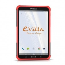 RUGGED COVER SAMSUNG GT A T580 RED