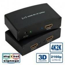 Nilox - separador de vídeo/audio - 2 puertos