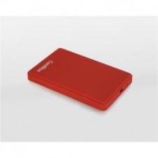 CAJA HDD 2.5 SCG2542 ROJO USB2.0