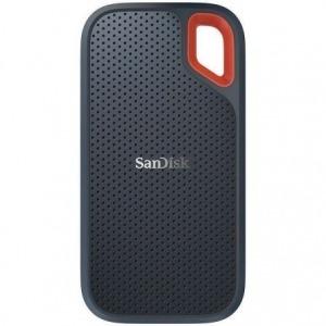 DISCO EXTERNO SANDISK SSD EXTREME PORTABLE 2TB - USB TIPO-C (INCLUYE ADAPTADOR A USB-A) - VELOCIDAD LECTURA 550MB/S - RUGERIZADO