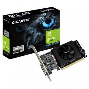 TARJETA GRÁFICA GIGABYTE GEFORCE GT 710 - 954 MHZ - 2GB GDDR5 - 64 BIT - PCIEX 8X 2.0 - HDMI - DVI-I