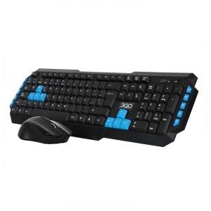 Teclado y Ratón Gaming 3GO Combo DrileW USB Negro