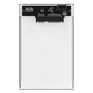 "Carcasa para Disco Duro CoolBox COO-SCT-2533 2,5"" 5 Gbps USB 3.0 Transparente"