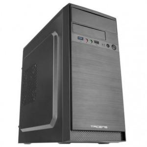CAJA MINITORRE TACENS ANIMA AC4500 - FUENTE 500W - 1*USB 3.0/1*USB2.0 + HD AUDIO Y MICRÓFONO - ADMITE VGA MAX 310MM - FRONTAL ALUMINIO PULIDO