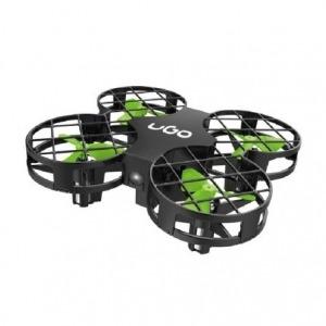 DRON UGO ZEPHIR 2.0 - GIROSCOPIO 6 EJES - APANTALLAMIENTO HÉLICES - AUTONOMÍA 8 MIN