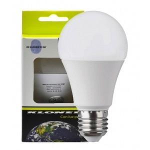 Bombilla LED E27 A60 5W 6000K luz Fría 350Lm Kloner