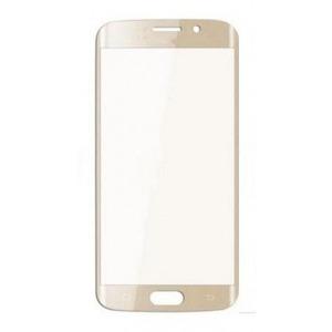 Cristal Pantalla Compatible S.Galaxy S6 Edge Oro