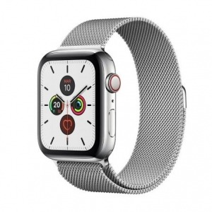 APPLE WATCH SERIES 5 GPS  CELL 44MM CAJA ACERO CON CORREA ACERO MILANESE LOOP - MWWG2TY/A