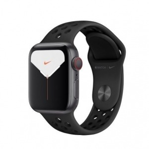 Apple Watch Nike Series 5 GPS + Cellular 40mm Aluminio Gris Espacial con Correa Deportiva Antracita/Negra