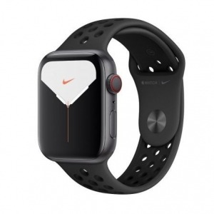 Apple Watch Nike Series 5 GPS + Cellular 44mm Aluminio Gris Espacial con Correa Deportiva Antracita/Negra