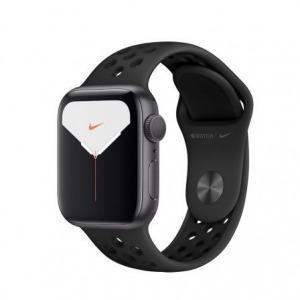 Apple Watch Nike Series 5 GPS 40mm Aluminio Gris Espacial con Correa Deportiva Antracita/Negra